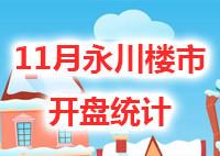 11月,永川推盘量大增,11盘计划加推1622套房源