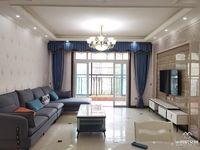 新区,万达广场旁,带私家露台花园,盛世棠城电梯大三房,家电齐,急售!