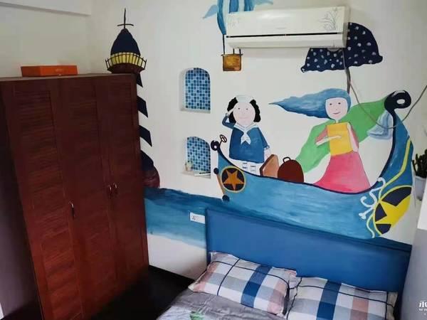 人民广场天秀锦地2室2厅1卫精装修家电齐拎包入住