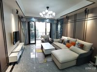 兴龙湖畔,金域蓝湾花园洋房,全新现代风格精装4房,全中庭,现亏本急售