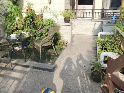 公园里的叠拼别墅,金科公园王府豪装5房,3层带花园,品质小区,物管好