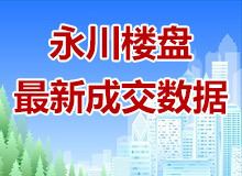 8月,永川楼盘价格及销量出炉